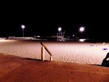 Night. Paisaje atardecer noche cielo sky chile playa beach arena royalty free stock images