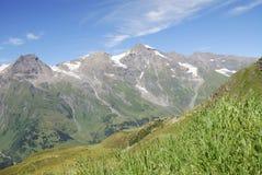 Paisaje austríaco de la montaña fotografía de archivo