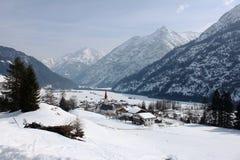 Paisaje Austria de la montaña Fotografía de archivo