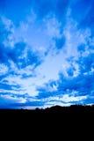 Paisaje azul fotos de archivo