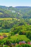 Paisaje bávaro del país foto de archivo