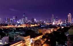 paisaje Bangkok de la ciudad Fotos de archivo libres de regalías