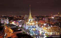 paisaje Bangkok de la ciudad Imágenes de archivo libres de regalías