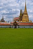 Paisaje Bangkok Tailandia del kaeo del phra de Wat fotos de archivo