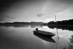Paisaje blanco y negro Foto de archivo libre de regalías