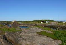 Paisaje Bodo de Noruega Imagenes de archivo
