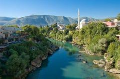Paisaje bosnio Imagenes de archivo