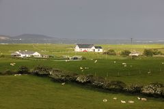 Paisaje Cabeza de Fanad Condado Donegal irlanda Imagenes de archivo