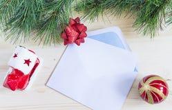 Paisaje caliente de la Navidad Fotografía de archivo
