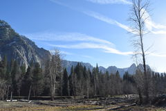 Paisaje California de la montaña Fotografía de archivo