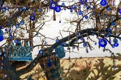 Paisaje Cappadocia, Turquía de la montaña Fotos de archivo libres de regalías