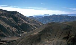 Paisaje cerca de Cachi, Salta, la Argentina Fotos de archivo libres de regalías