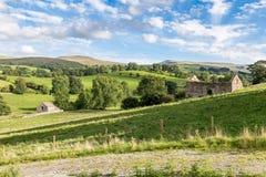 Paisaje cerca de Kirkby Stephen, Cumbria, Reino Unido Fotos de archivo