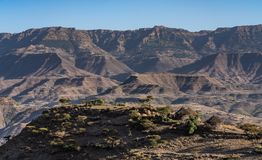 Paisaje cerca de Lalibela, Etiopía, África imagen de archivo libre de regalías