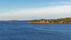 Paisaje cerca de Nynashamn Fotos de archivo libres de regalías