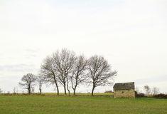 Paisaje cerca De Tarbes, frans zdjęcie royalty free