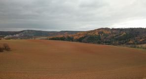 Paisaje checo Imagen de archivo
