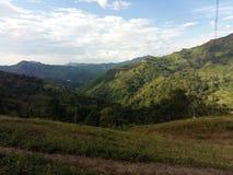 Paisaje colombiano Zdjęcie Royalty Free