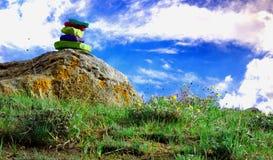Paisaje colorido Fotos de archivo