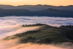 Paisaje colorido en las montañas, viaje de Europa, mundo del verano de la belleza Imagen de archivo libre de regalías