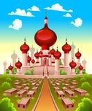 Paisaje con el castillo árabe