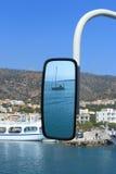 Paisaje con el espejo Imagen de archivo libre de regalías