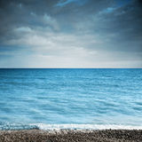 Paisaje con el mar Fotografía de archivo libre de regalías