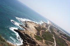 Paisaje con el mar Imagenes de archivo