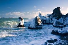 Paisaje costero Foto de archivo libre de regalías