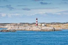Paisaje costero noruego Imagen de archivo libre de regalías