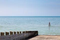 Paisaje costero, Seaford Fotografía de archivo