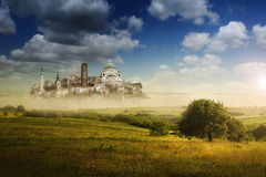 Paisaje creativo de Belgrado imagen de archivo