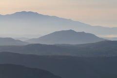 Paisaje Crete 2 de la montaña fotografía de archivo libre de regalías