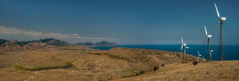 Paisaje Crimea de la naturaleza de la belleza Imagenes de archivo