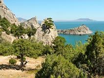 Paisaje Crimea del este Fotografía de archivo