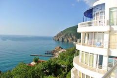 Paisaje Crimea Ucrania Foto de archivo