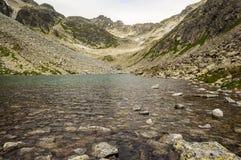 Paisaje crudo de la montaña Foto de archivo libre de regalías