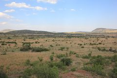 Paisaje de África Imagen de archivo