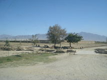 Paisaje de Afganistán Fotos de archivo