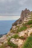 paisaje de Ai-petri Crimea imagenes de archivo