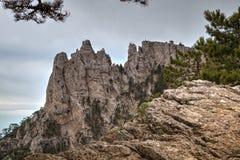 paisaje de Ai-petri Crimea fotografía de archivo libre de regalías