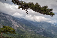 paisaje de Ai-petri Crimea foto de archivo libre de regalías