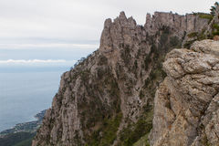 paisaje de Ai-petri Crimea imagen de archivo