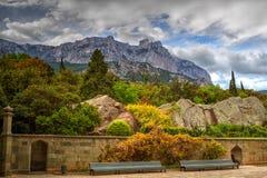 paisaje de Ai-petri Crimea foto de archivo