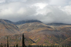Paisaje de Alaska de la montaña Fotos de archivo