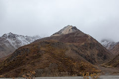 Paisaje de Alaska de la montaña Fotografía de archivo