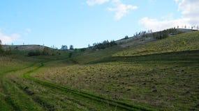 Paisaje de Altai de la primavera foto de archivo libre de regalías