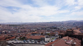 Paisaje de Ankara imagenes de archivo