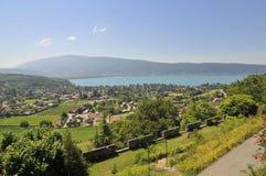 Paisaje de Annecy foto de archivo libre de regalías