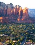 Paisaje de Arizona cerca de Sedona Fotografía de archivo libre de regalías